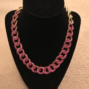 J.CREW PAVÉ CHAIN NECKLACE. ITEM # AF773